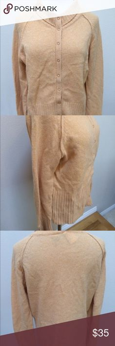 """Moth Anthropologie Orange Wool Angora Sweater Moth Anthropologie Orange Wool Angora Blend Sweater Cardigan Women's XL. Excellent condition! Snap closure. Very clean and comes from smoke free home. Questions welcomed! Armpit to armpit: 21"""" across Length: 23.5"""" Anthropologie Sweaters Cardigans"""