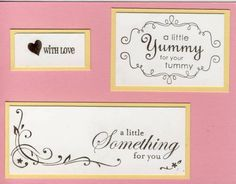 Yummy Index by galleryindex - Cards and Paper Crafts at Splitcoaststampers