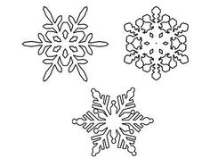 Snowflake Coloring Pages, Coloring Pages For Kids, Simple Snowflake, Original Copy, The Dreamers, Snowflakes, Free Printables, Symbols, Advent