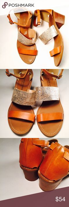 ⚜ BARBARA BARBIERI ⚜ Leather Metallic Sandals Gorgeous heeled sandals, leather made in Italy, mentally silver strap. CONDITION: GUC, very minimal signs of wear, top strap is slightly peeling inside but doesn't effect the look or wear of the shoe. MATERIAL: leather made in Italy Barbara Barbieri Shoes