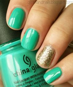 Show your St. Patricks Day spirit with these lucky (and easy to DIY!) nail art designs.