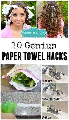 10 Genius Paper Towel Hacks