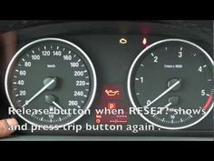 How to Reset the 2006-2011 BMW Maintenance Light (oil, brake, service) - YouTube