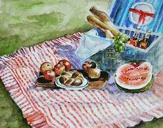 Watercolor @watercolor.blog #watercolor #art #drawing #draw #painting #suluboya #piknik #wine #naturelovers #vangogh #fridakahlo #turkey #izmir #istanbul #@fabercastellglobal @faber_castelltr #scetchbook #illustration #graffiti #grafiktasarim #instagram #instagood #insta #color #sanat #fineart http://turkrazzi.com/ipost/1524873536836183896/?code=BUpcGcSg6dY