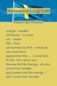 Grab a notebook and write the meaning for each word. You can grade yourself and easily see which words you need to practice some more. You can also try to make as many se… Sweden Language, Great Northern Railroad, Swedish Quotes, Swedish Christmas, Scandinavian Christmas, Learning Languages Tips, Learn Swedish, About Sweden, Learn Another Language