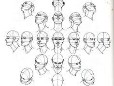 dibujo anatomia del cuerpo 1