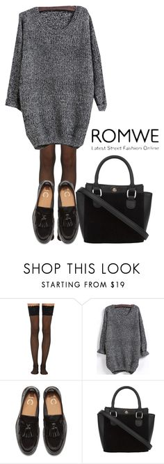 """""""Romwe Contest"""" by eu-ju-cunha ❤ liked on Polyvore featuring Wolford"""