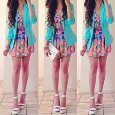 Spring Outfit Clothes Casual Outift for Cute Teen Outfits, Outfits For Teens, Pretty Outfits, Casual Outfits, School Outfits, Teen Fashion, Love Fashion, Fashion Outfits, Style Fashion