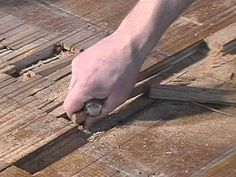 This is your DIY guide to patching hardwood floors. Tongue and groove flooring is designed to allow for replacement, but patching can be a fussy process. Attic Ladder, Attic Loft, Attic Rooms, Attic Playroom, Attic Window, Attic Stairs, Hardwood Floor Repair, Hardwood Floors, Flooring