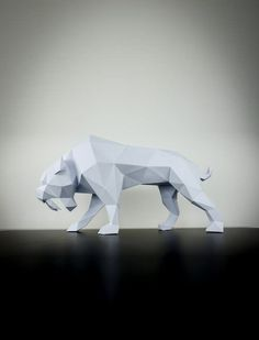 A majestic paper animal that would be perfect for you interior design space!