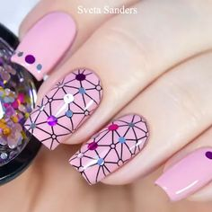 Nail art Christmas - the festive spirit on the nails. Over 70 creative ideas and tutorials - My Nails Nail Art Designs Videos, Nail Art Videos, Toe Nail Designs, Nails Design, Cute Nail Art, Nail Art Diy, Diy Nails, Sharpie Nails, Super Cute Nails