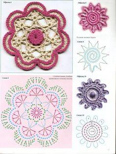 Crochet Knitting Handicraft: Irish motifs
