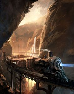ArtStation - Continents perdus, sparth .