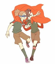 Jude Sharp, Inazuma Eleven Go, Best Series, Doujinshi, Fanfiction, Fan Art, Manga, Wattpad, Illustration