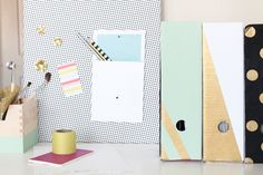 DIY Patterned Magnetic Board