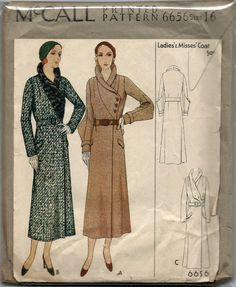 McCall 6656 - Vintage Sewing Patterns