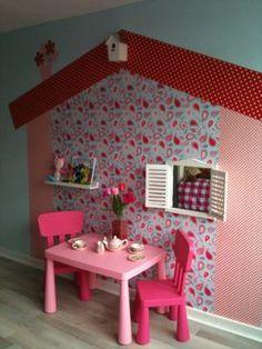 Dit wil ik ook in de kamer van ons meisje maken, in ons volgende huis!