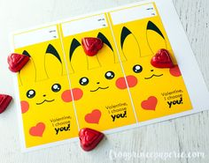 Pick up an easy to assemble free printable Pokemon Valentine that's perfect for Pokemon fans who have classroom Valentines to hand out this year! Valentines Gifts For Boyfriend, Valentines For Boys, Birthday Gifts For Kids, Valentine Box, Valentines Day Party, Valentine Day Crafts, Diy Birthday, Birthday Cards, Valentine Nails