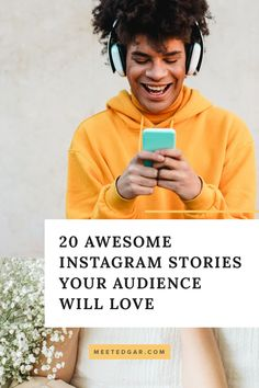 Is it a struggle to come up with topics for your Instagram stories? You'll love this list of 20 great IG story ideas for those days when you just don't feel creative. The easiest way to see an increase in engagment is with content that draws in your audience. Grow your brand with these free Instagram story topic ideas. Latest Instagram, Free Instagram, Instagram Tips, Instagram Story Template, Instagram Story Ideas, Feeling Stuck, How Are You Feeling, Questionnaire Template, Instagram Schedule