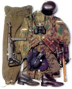 LUFTWAFFE - Fallshirmjaeger Uniform kit