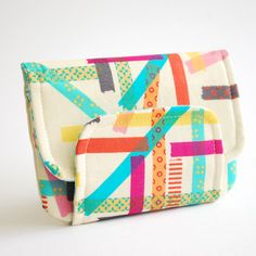 Pretty 'Washi' wallet made by Nikki Reay