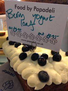 Blueberry and yoghurt cake