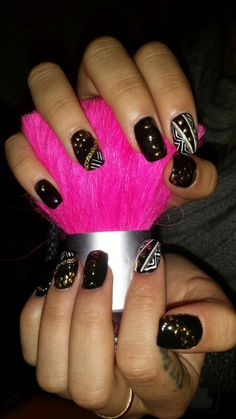 Racing nails by: Andreia Gouveia