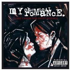 My favorite of ALL albums!! My Chemical Romance- Three Cheers for Sweet Revenge Vinyl Record