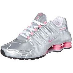 Nike Sportswear SHOX NZ - Trainers - cool grey pink metallic silver for  with free delivery at Zalando 37bebf52d