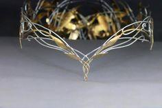My replica of the Galadriel crown by ElnaraNiall.deviantart.com on @deviantART