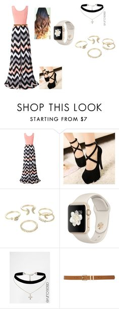 """""""Sin título #69"""" by tatianazapatat ❤ liked on Polyvore featuring Chicnova Fashion, Mancienne, Lipsy, ASOS Curve and M&Co"""