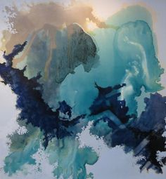 Julie Corbet Asia Oil and mixed media on canvas At art piece gallery