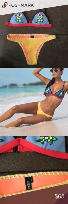 Triangl bikini Brand new only worn once to shoot Triangl bikini crochet triangl swimwear Swim Bikinis