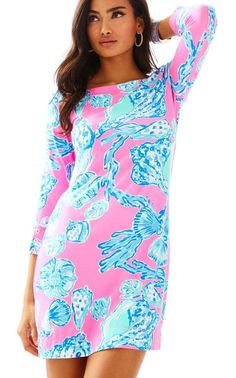 0dd3a679c462 UPF 50+ SOPHIE DRESS PINK POUT BAREFOOT PRINCESS BY LILLY PULITZER Preppy  Outfits, Preppy