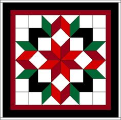 The Frontier Barn Quilt Trail Quilt Square Patterns, Barn Quilt Patterns, Square Quilt, Star Quilt Blocks, Star Quilts, Barn Quilt Designs, Quilting Designs, Blackwork, Sunflower Quilts