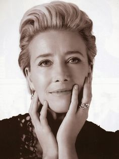 Photo: Nick Haddow Whether she's speaking her mind at the Grammys or on a voyage to the Arctic with Greenpeace (to highlight global warming), I bloody love Emma Thompson. When asked if Emma Thompson, British Actresses, British Actors, Actors & Actresses, Anthony Hopkins, Old Actress, Famous Faces, Role Models, Movie Stars