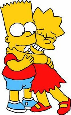 Bart and Lisa (The Simpsons) (c) Gracie Films, Century Fox & Walt Disney Studios Lisa Y Bart, Bart And Lisa Simpson, Homer Simpson, Simpson Wallpaper Iphone, Cartoon Wallpaper Iphone, Cute Cartoon Wallpapers, The Simpsons, Simpsons Drawings, Cartoon Clip