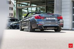 #BMW #F83 #M4 #Convertible #MineralGrey #MPerformance #xDrive #SheerDrivingPleasure #Tuning #VOSSENWheels #Provocative #Eyes #Sexy #Freedom #Touch #Sky #FeelWind #Cloud #Badass #Burn #Live #Life #Love #Follow #Your #Heart #BMWLife