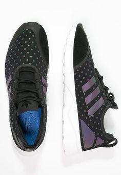 best website dc3c1 e21ef ZX FLUX ADV VERVE - Sneaker low - core blackwhite Adidas Originals Zx Flux