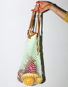 10 Woven String Bags for Groceries - Gardenista