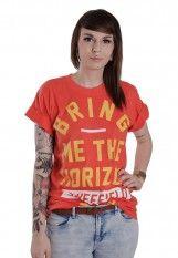 Bring Me The Horizon - Big Text Red - T-Shirt