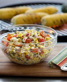 'Cued Corn Salad