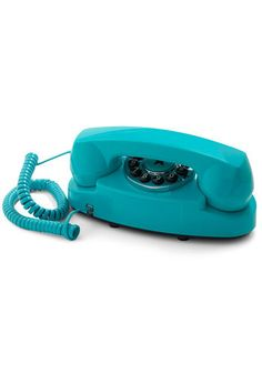 Style Hotline Phone in Teal | Mod Retro Vintage Electronics | ModCloth.com