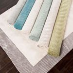 Ridge Wool Blend Hand Loomed Rugs - Assorted Sizes and Colors