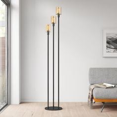 Farmhouse Floor Lamps, Urban Home Decor, Vintage Home Offices, Industrial Floor Lamps, Floor Lamp Base, Circular Table, Torchiere Floor Lamp, Contemporary Floor Lamps, Bedroom Lamps