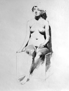 Kai Fine Art is an art website, shows painting and illustration works all over the world. Figure Sketching, Figure Drawing Reference, Line Sketch, Quick Sketch, Life Drawing, Erotic Art, Art Techniques, Figurative Art, Art Sketches