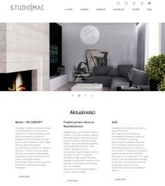 AIAC Agency for Studio MAC | http://studiomac.pl | http://aiac.pl  #websitedesign #web #whitewebsite #interiordesignwebsite #interiordesign #aiac