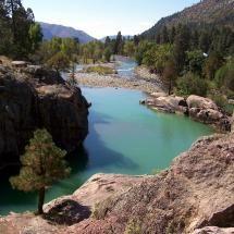 Animas River near Durango, Colorado. lived just miles away.. 1972-74
