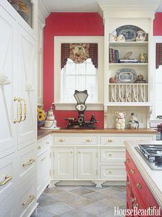 Kitchen: Red Geranium