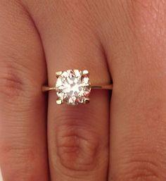 inique engagement rings for women solitare | Unique Engagement Rings, 2.00 CT Diamond Solitaire Engagement Ring ...